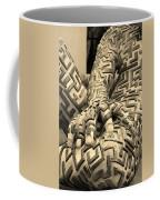A Maze Ing Man 4 Sepia Coffee Mug