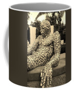 A Maze Ing Man 5 Sepia Coffee Mug