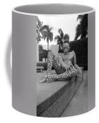 A Maze Ing Man Black And White Coffee Mug