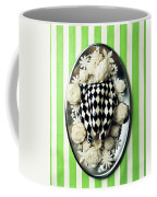 A Meal With Painted Chicken And Eggplant Coffee Mug