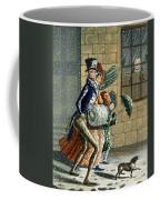 A Merry Christmas And Happy New Year Coffee Mug