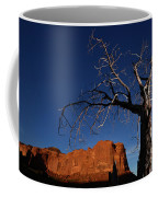 A Mesquite Trees And Buttes Coffee Mug