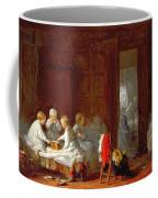 A Midnight Feast, 1866 Coffee Mug by Frederick Daniel Hardy