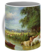 A Midsummer's Day On The Thames  Coffee Mug