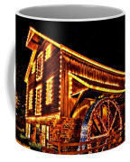 A Mill In Lights Coffee Mug by DJ Florek