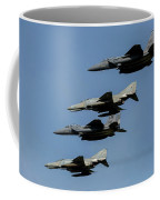 A Mixed Formation Of U.s. Air Force Coffee Mug