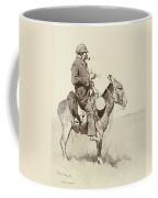 A Modern Sancho Panza Coffee Mug by Frederic Remington