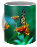 A Monarch Coffee Mug