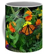 A Monarchs Colors Coffee Mug