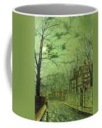 A Moonlit Road Coffee Mug