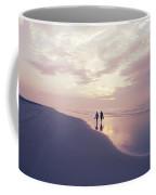 A Morning Walk On The Beach Coffee Mug