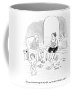 A Mother Of A Toddler Drinks Wine And Talks Coffee Mug