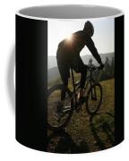 A Mountain Biker Makes His Final Coffee Mug