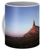 A Mountain Surrounded By Prairies Coffee Mug