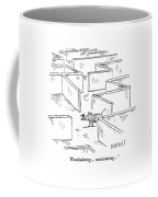 A Mouse Uses A Global Positioning System Gps Coffee Mug