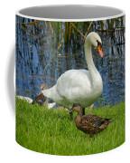 A Mute And Mallards Coffee Mug