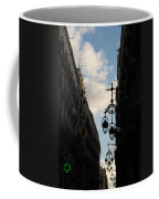 A Necklace Of Barcelona Streetlamps Coffee Mug