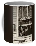 A New Orleans Greeting Sepia Coffee Mug