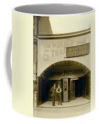 A Nickelodean Theater Coffee Mug