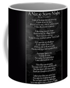 A Not So Starry Night Coffee Mug