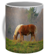 A November Horse Coffee Mug