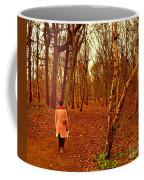 A November Stroll Through Formby Woods Coffee Mug
