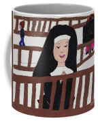 A Nun In Prayer Coffee Mug
