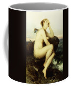 A Nymph By The Sea Coffee Mug by Wilhelm Kray