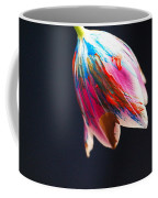 A Painted Tullip In Shadows Coffee Mug