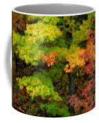 A Painting Adirondack Autumn Coffee Mug