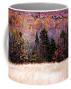 A Painting Autumn Field Coffee Mug