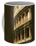 A Painting The Colosseum Coffee Mug