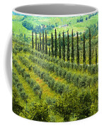 A Painting Tuscan Panoramic 4 Coffee Mug