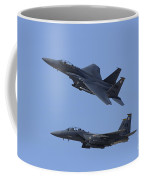 A Pair Of F-15c Eagle Aircraft Perform Coffee Mug