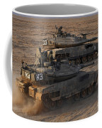 A Pair Of Israel Defense Force Merkava Coffee Mug