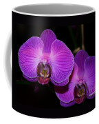 A Pair Of Purple Orchids From Bermuda Coffee Mug