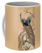 A Pair Of Peacocks In Spring Coffee Mug