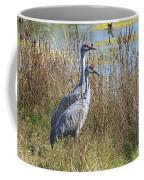 A Pair Of Sandhill Cranes Coffee Mug