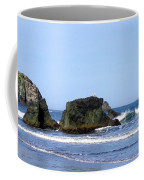 A Pair Of Seagulls On A Rock Coffee Mug