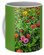 A Pair Of Yellow Zinnias 04 Coffee Mug