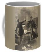 A Parisien Drama, Illustration From Le Coffee Mug