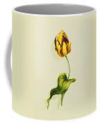 A Parrot Tulip Coffee Mug