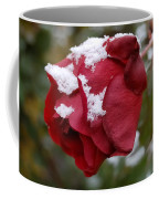 A Passing Unrequited - Rose In Winter Coffee Mug