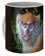 A Patas Baby Monkey Behaving Badly Coffee Mug