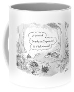 A Patch Of Leaves Wonders Whether It Itself Coffee Mug