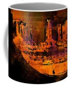 A Pause In Monument Park Coffee Mug