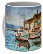A Peaceful Harbour  Coffee Mug