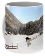 A Peaceful Winterscene Coffee Mug