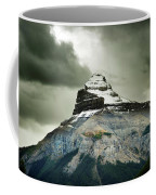 A Peak Of A Mountain Top In The Rocky Coffee Mug