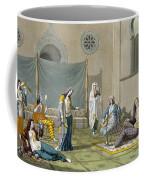 A Persian Harem, From Le Costume Ancien Coffee Mug
